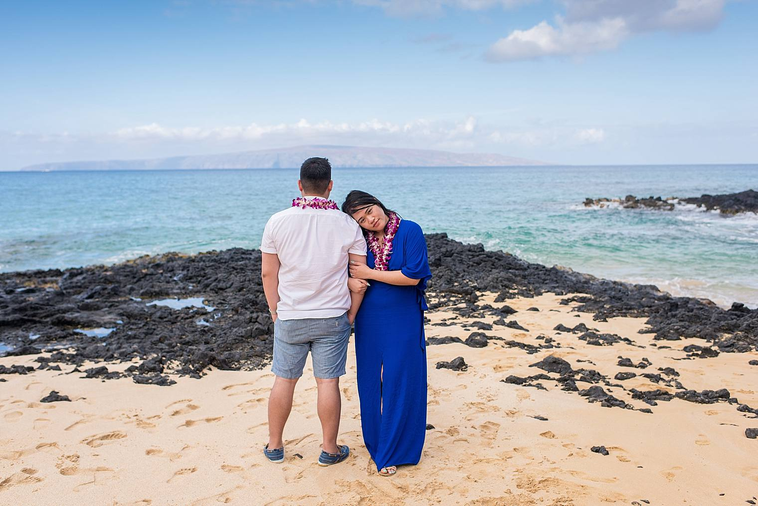 Maui Surprise Proposal Photographer - Black Sand Beach_0023
