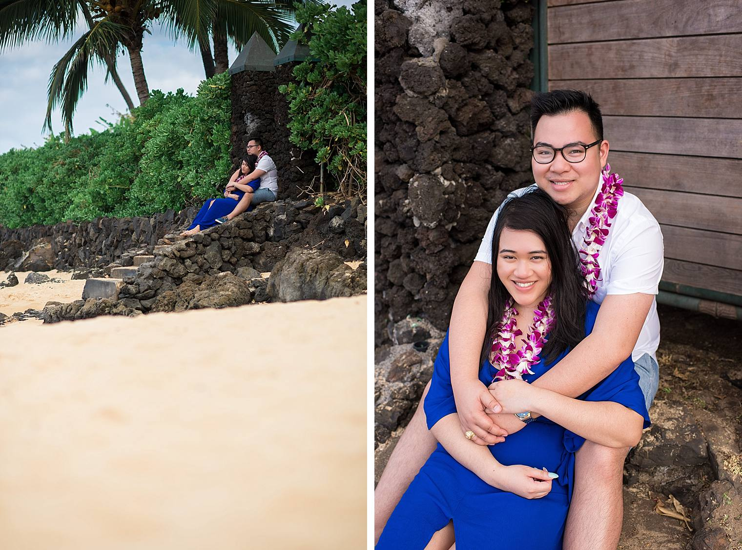 Maui Surprise Proposal Photographer - Black Sand Beach_0028