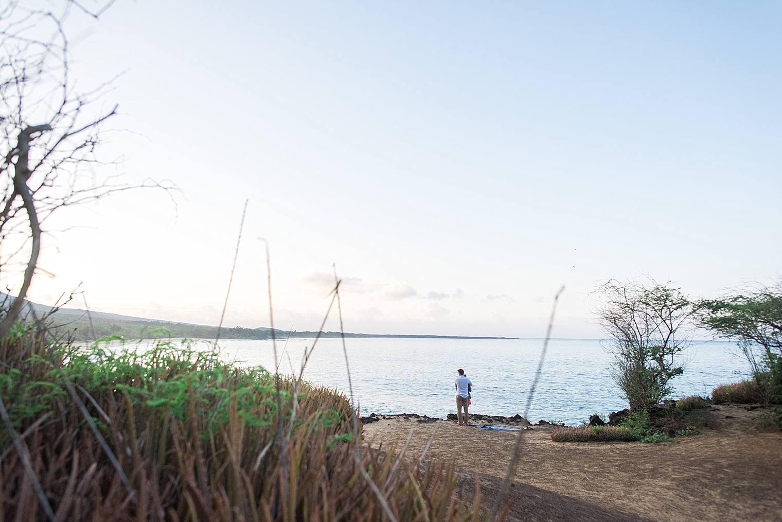 Sunrise Cliff Proposal in Maui, Hawaii_0005