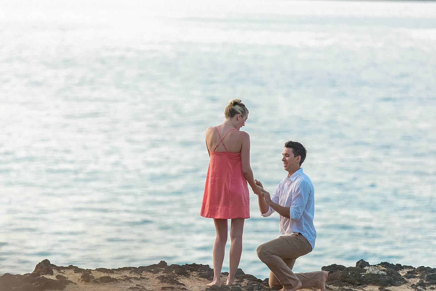 Sunrise Cliff Proposal in Maui, Hawaii