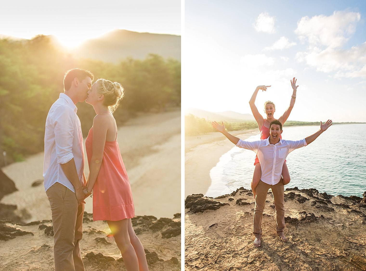 Sunrise Cliff Proposal in Maui, Hawaii_0015