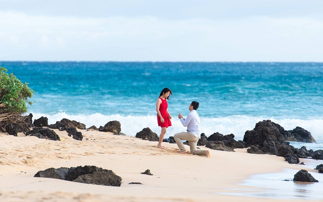 Surprise Beach Proposal in Maui | Stanley+Lisa