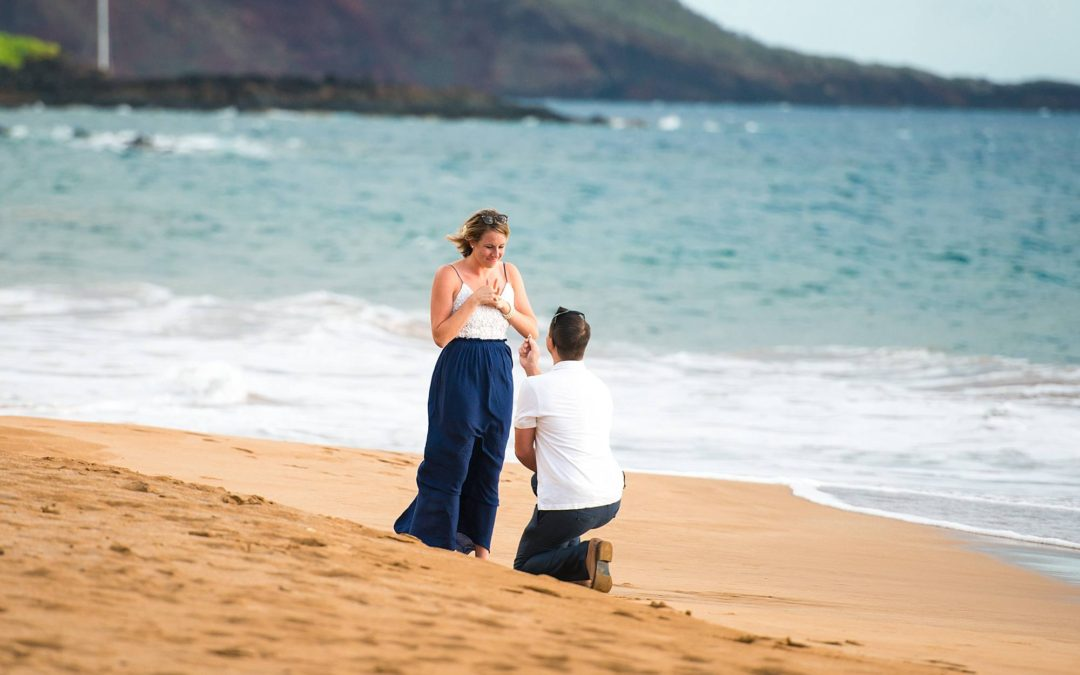 Surprise Proposal With Pixar's Lava Singer Kuana Torres Kahele in Maui, Hawaii