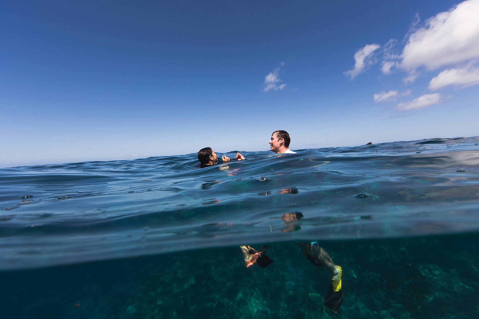 Underwater snorkeling proposal in Maui, hawaii_0004