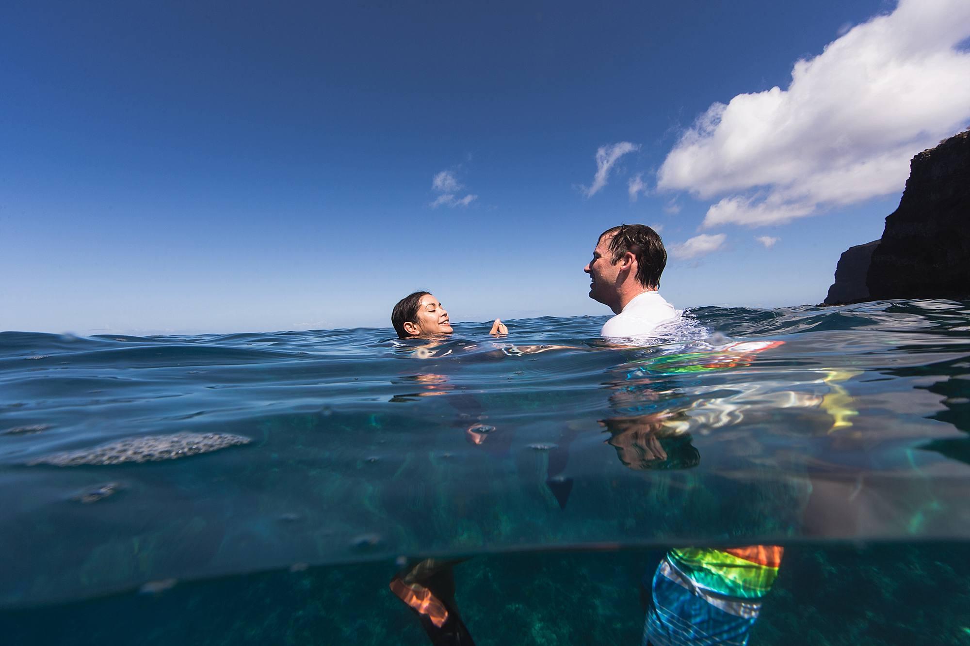 maui snorkeling proposal