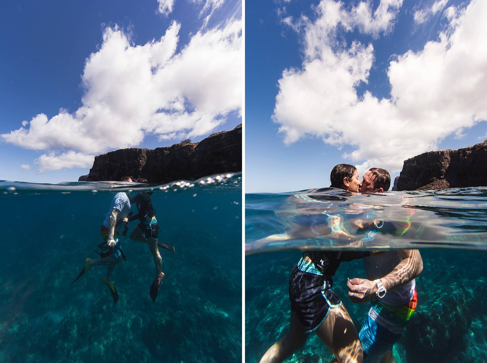 Underwater snorkeling proposal in Maui, hawaii_0008