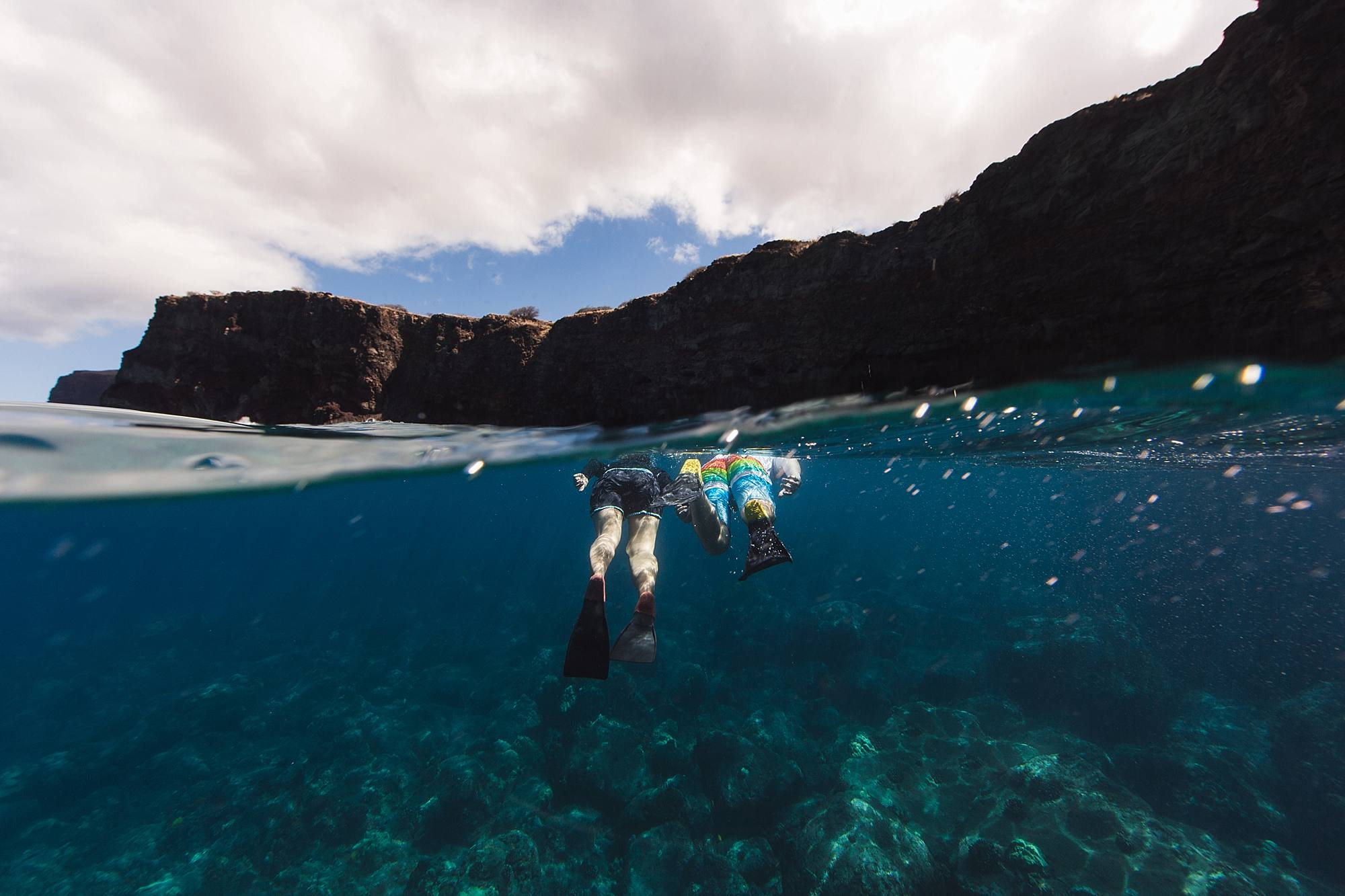 Underwater snorkeling proposal in Maui, hawaii_0009