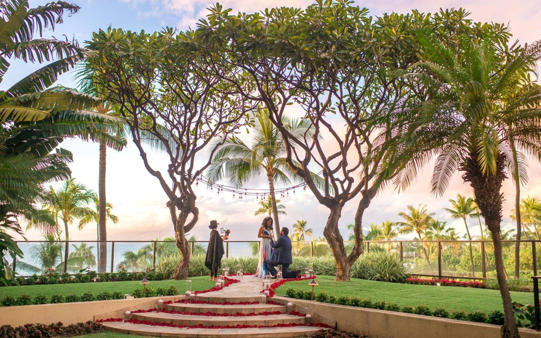 Valentine's Day Proposal at the Four Seasons Maui | Renan + Lisvania