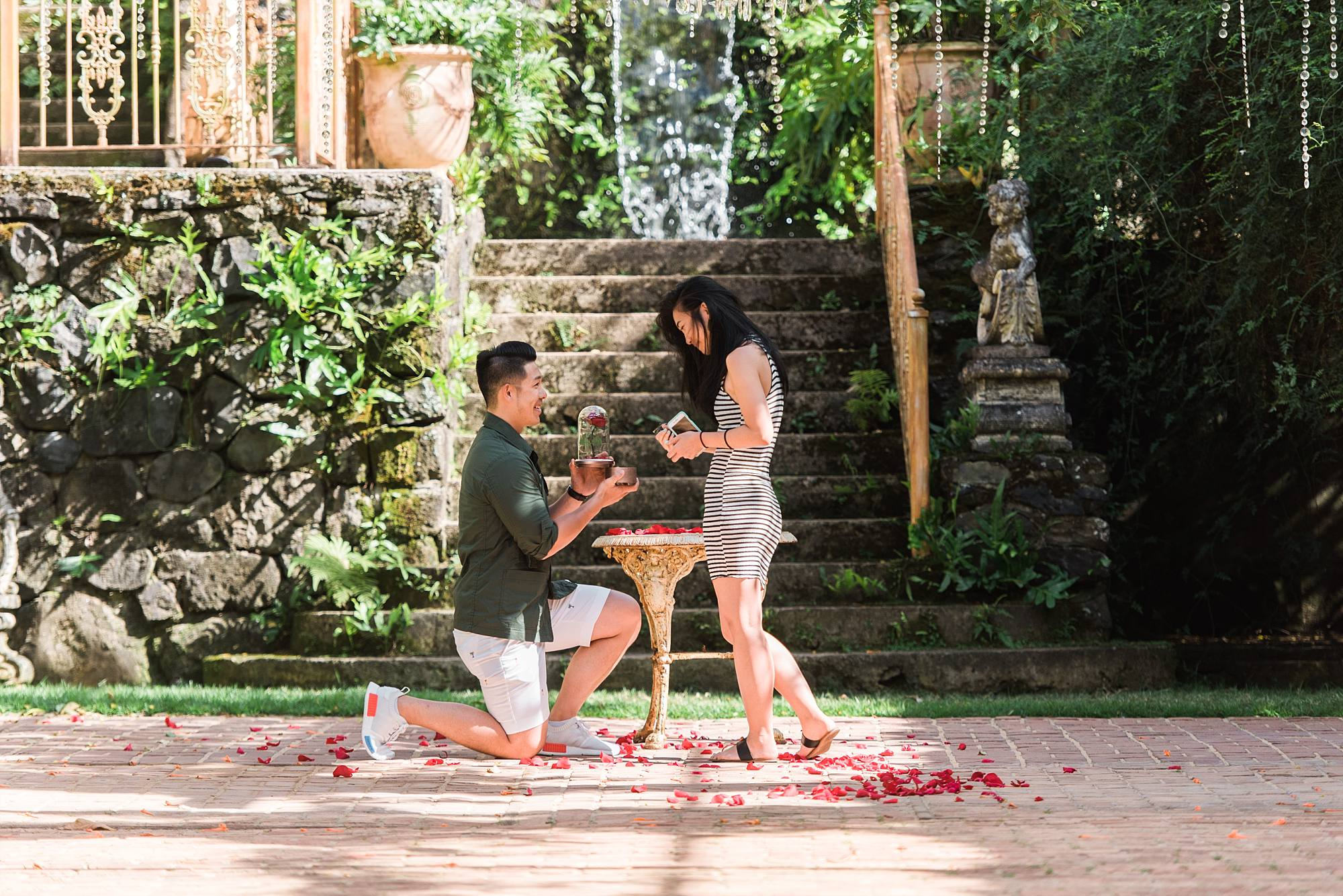 Beauty and the Beast Inspired Proposal at Haiku Mill_0016