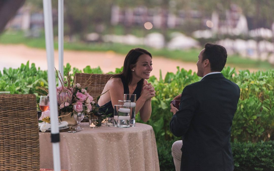 Four Seasons Maui Ultimate Dinner Proposal | Liron + Samantha