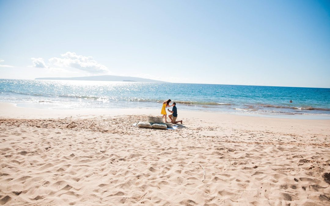 Magnificent Afternoon South Maui Proposal | James + Melissa