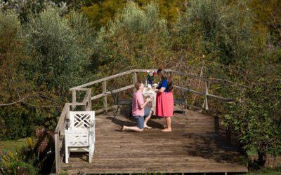 Proposal at Ali'i Kula Lavender Farm | Michael + Emily