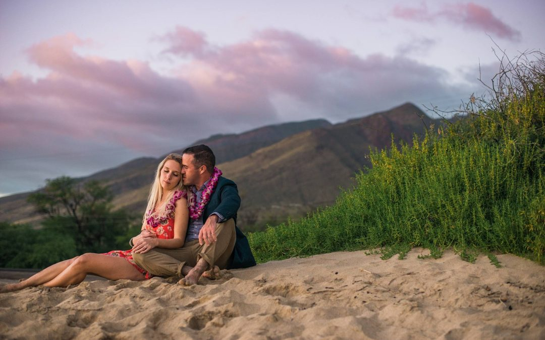 Maui Engagement Photography in Wailuku, Maui | Jeremy + Kate