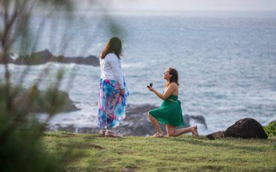 Secret Cliffside Proposal | Rachel + Victoria