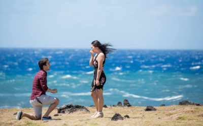 Chartered Helicopter Proposal in East Maui | Keenan + Michelle