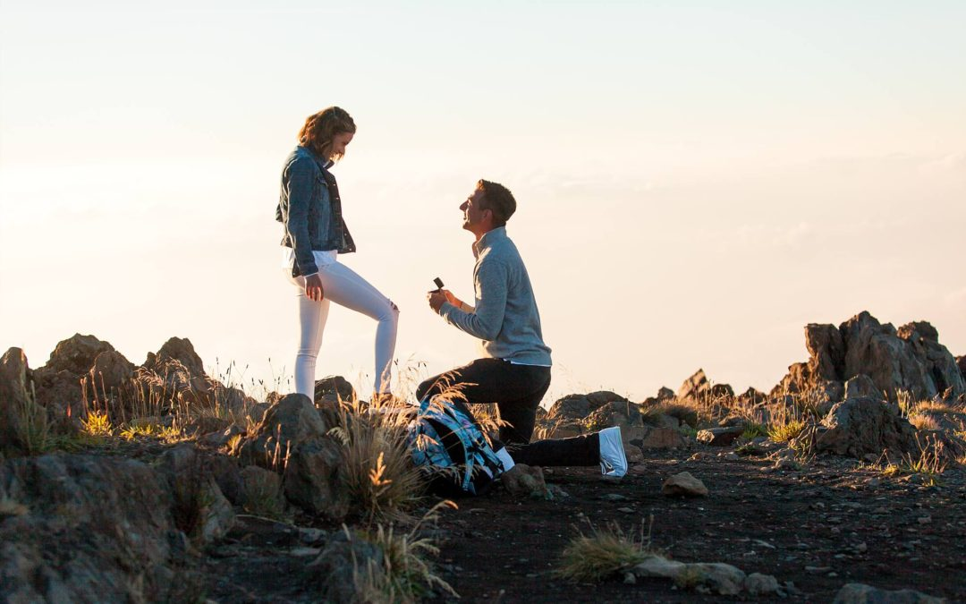 Above the Clouds Proposal in Maui | Dante + Cheryl