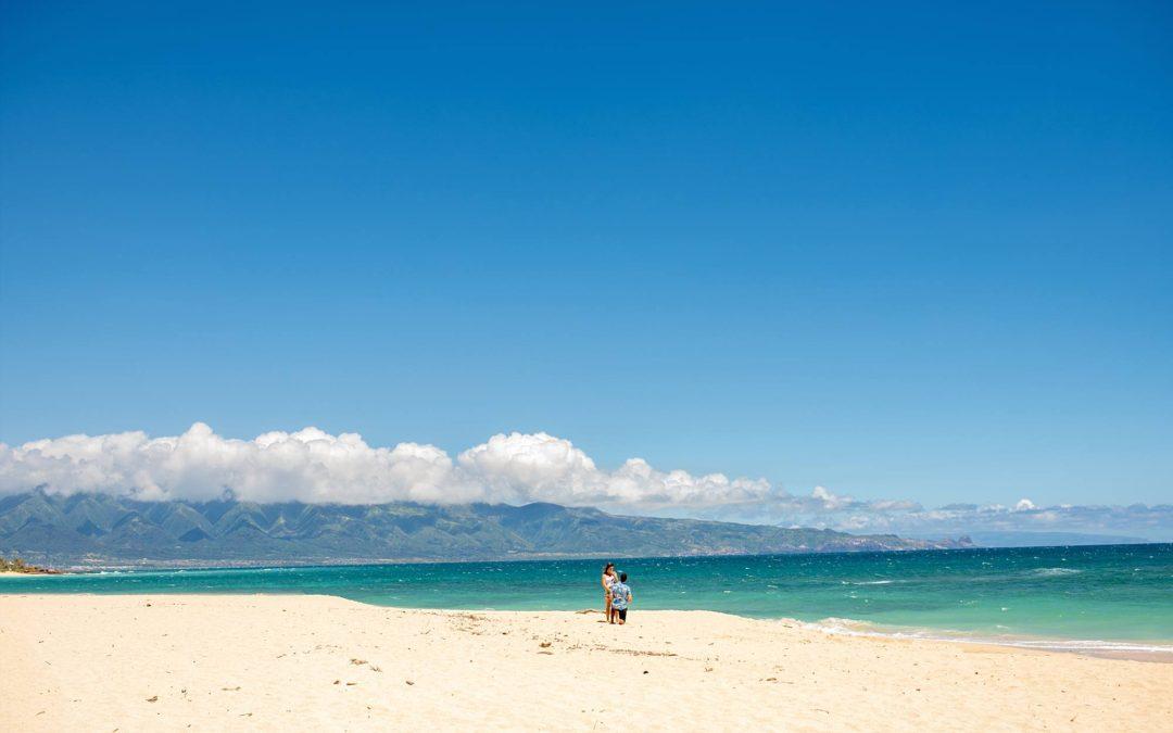 Private North Shore Beach Proposal | Michael + Morgan