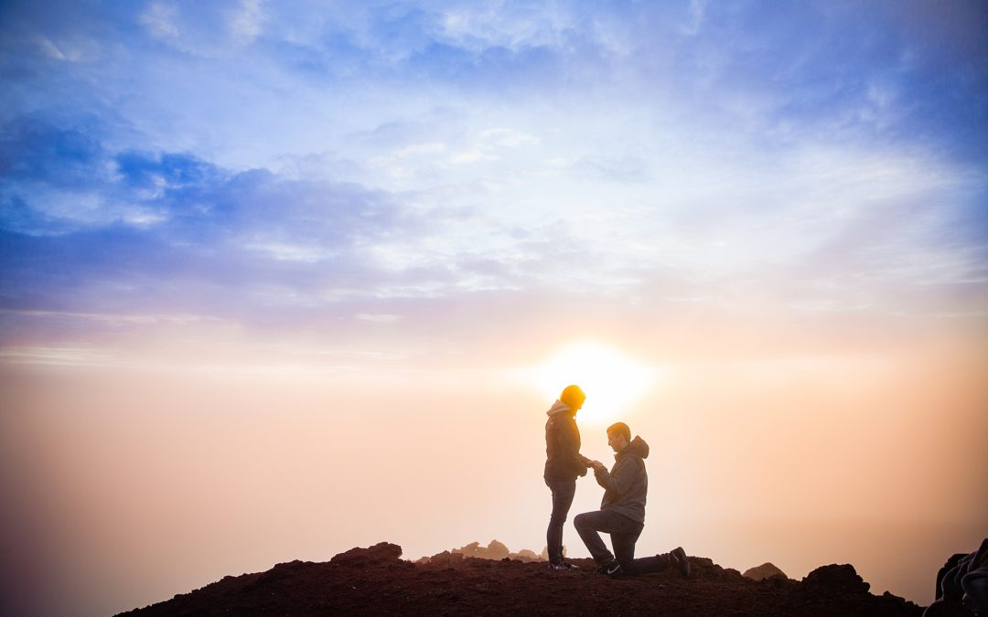 Haleakala Crater sunrise proposal
