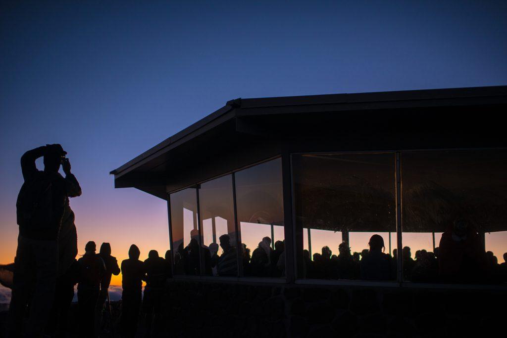 Haleakala sunrise lookout