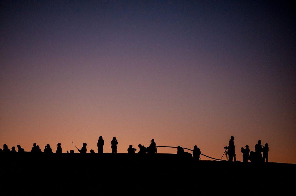 Before sunrise at Haleakala Crater