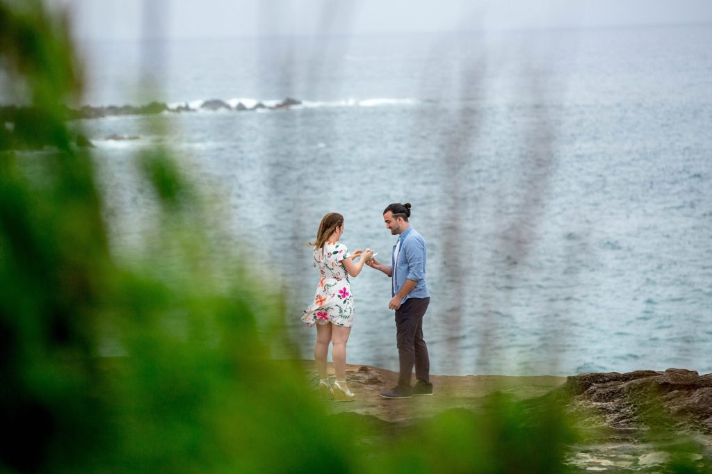 Couple finds Golden Snitch before Maui proposal
