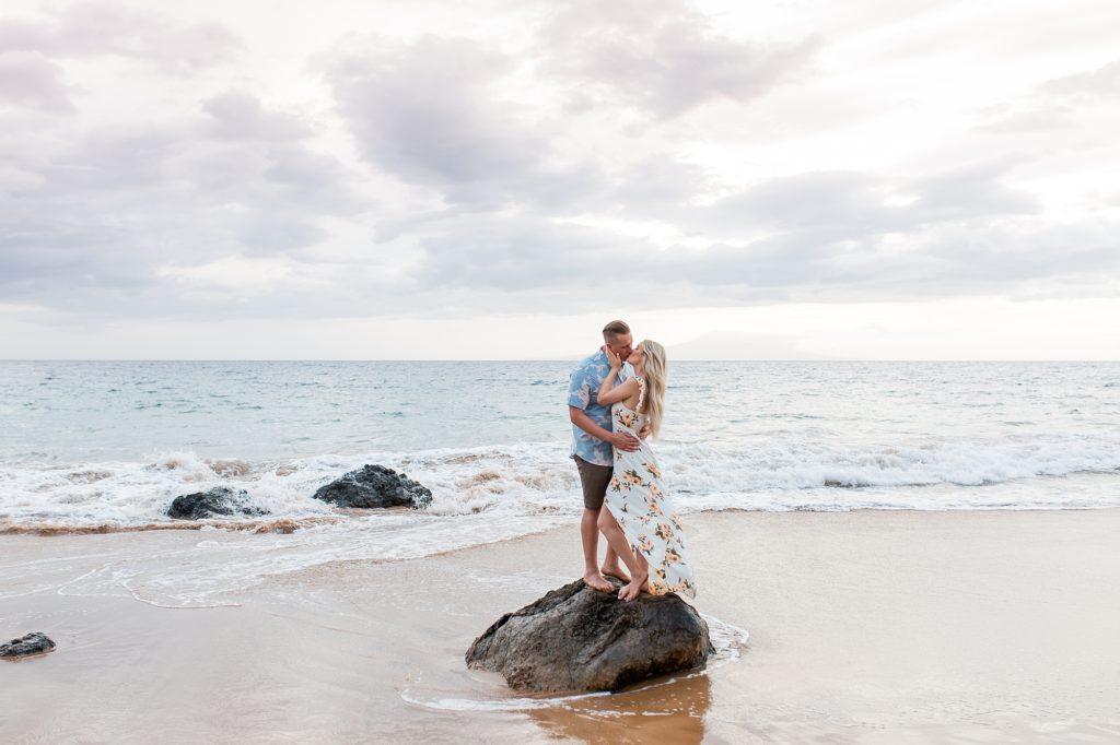 Photo shoot turned surprise proposal on Maui