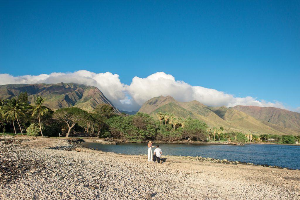 Maui proposal in Lahaina