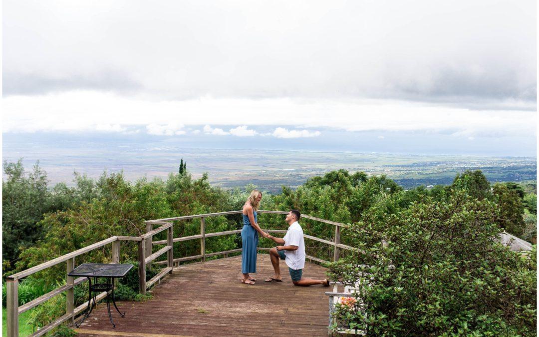 Maui Lavender Farm Surprise Proposal | Marcos + Lexi