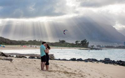 Incredible North Shore Proposal | Jordan + Megan