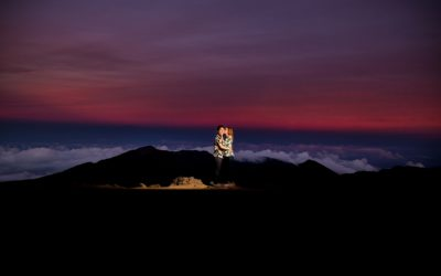 Epic Haleakala Crater Proposal | Wookie + Gillian