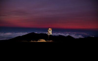 Epic Haleakala Crater Proposal | Wookie + Gillian