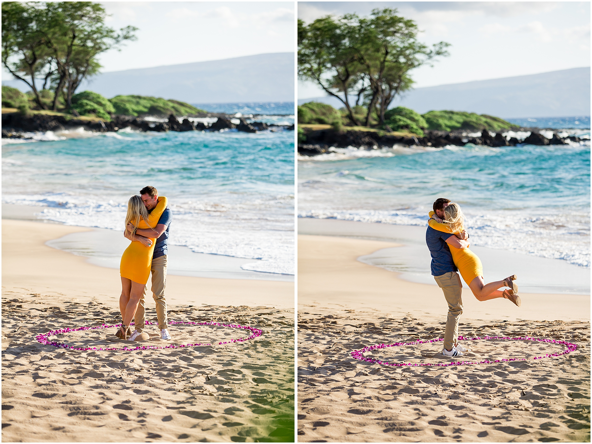 just engaged in Maui