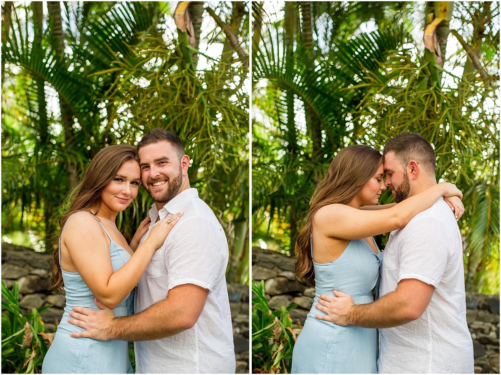 Maui forest engagement photos